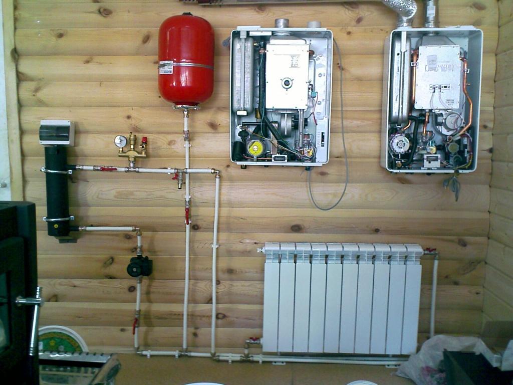 схема гаражного отопления электрическим котлом